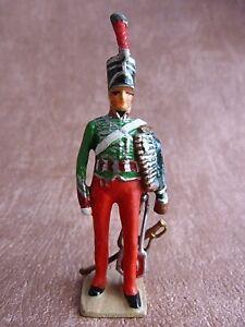 Ancienne Figurine Vertunni - Gautho-Lapeyre Chasseur À Cheval Premier Empire