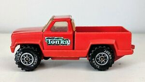 Vintage-TONKA-Mini-Pick-Up-Toy-Truck-Made-in-USA-1978-Red-143