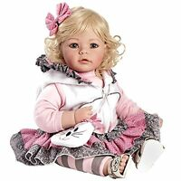 Baby Doll Reborn Girl Real Lifelike Vinyl Soft Realistic Toddler Cute Kids Toy