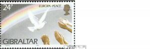 Unmounted Mint Gibraltar 710-713 Couples complete Issue Never Hinged 1995 Eu