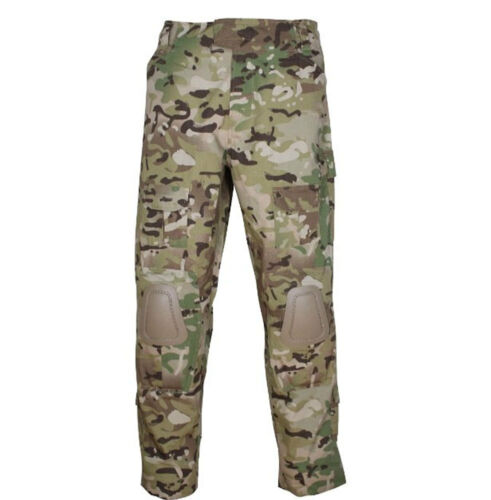 Multicam Built in Knee Pads Special Ops Trousers MTP  Ripstop Combat Pants