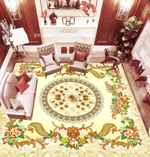 3D Gemalt Fototapeten Wandbild Fototapete Tapete Familie DE Lemon