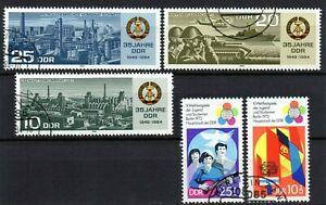 Alemania DDR 2 series completas año 1973 y 1984 usados