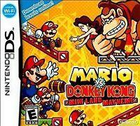 Mario vs. Donkey Kong Mini-Land Mayhem!, (DS)