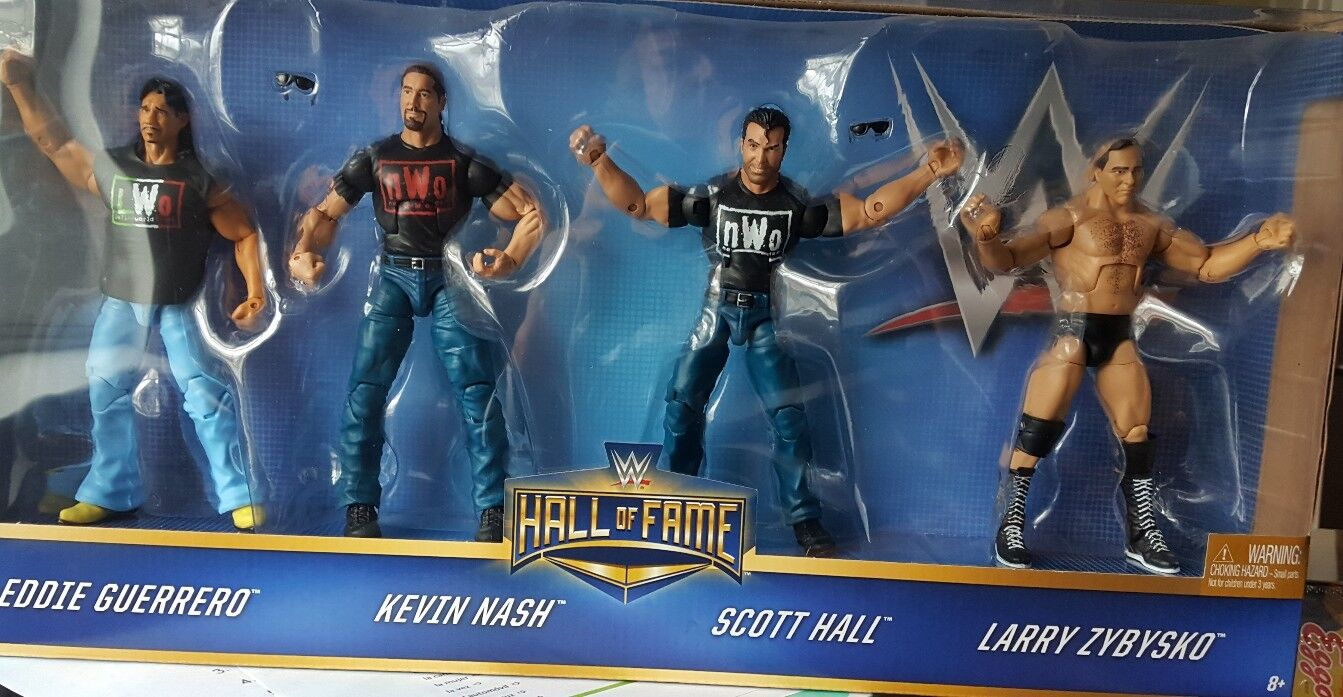 WWE Elite WCW NITRO HALL NASH ZYBYSKO GUERRERO Target Hall of Fame Box Set