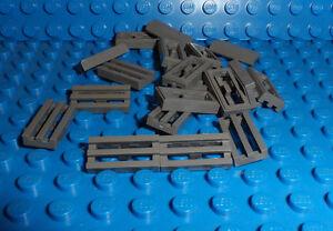 New Lego 20 x Flat Silver Grill Tiles 1 x 2