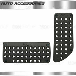 ispacegoa.com Silver Pedal Pad Set with Black Insert Manual ...
