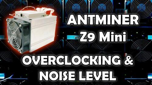 Bitmain Antminer Z9 Mini Batch 1 Firmware