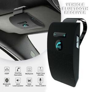 Bluetooth-Universal-Car-Kits-Wireless-Handsfree-Speaker-Phone-Visor-For-Phone