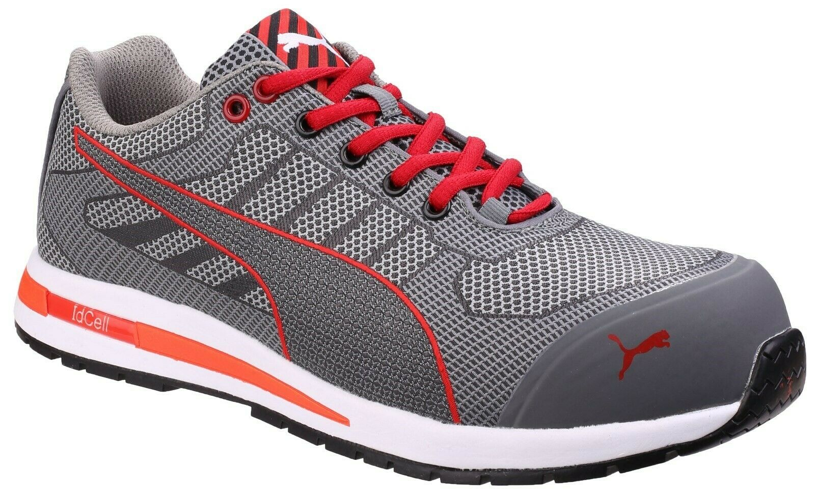 Puma Xelerate Knit Low Safety Trainers Industrial Composite Toe Mens Work Shoes