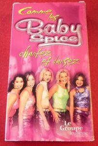 VHS-French-Movie-Chantez-et-Dansez-Comme-les-Baby-Spice