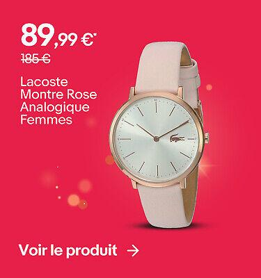 Lacoste Montre Rose Analogique Femmes - 89,99 €*