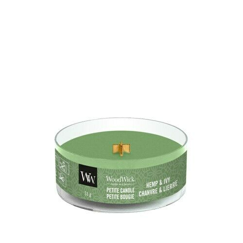WoodWick Hemp and Ivy Petite Scented Candle FREE P/&P
