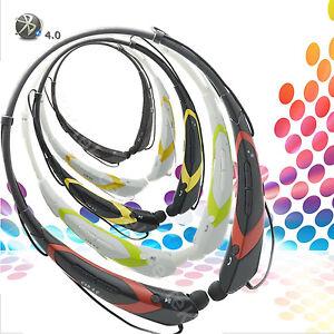 Wireless Bluetooth Headset Stereo Headphone Earphone Sport Handfree Universal