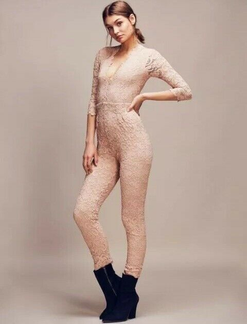Nightcap Dixie Lace Catsuit  Sold Out In bluesh Size 3 NWT