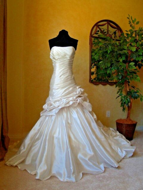 Maggie Sottero Sample Wedding Dress Daphne J1375 Size 12 Ebay