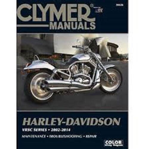 Harley-Davidson V-Rod V Rod Night Rod VRSC Reihe 2002-2014 Clymer Handbuch M426