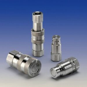 HSS19F16GV-Hydraulic-Stainless-Steel-Flat-Face-Coupling-BSPP-Thread-1-034-F