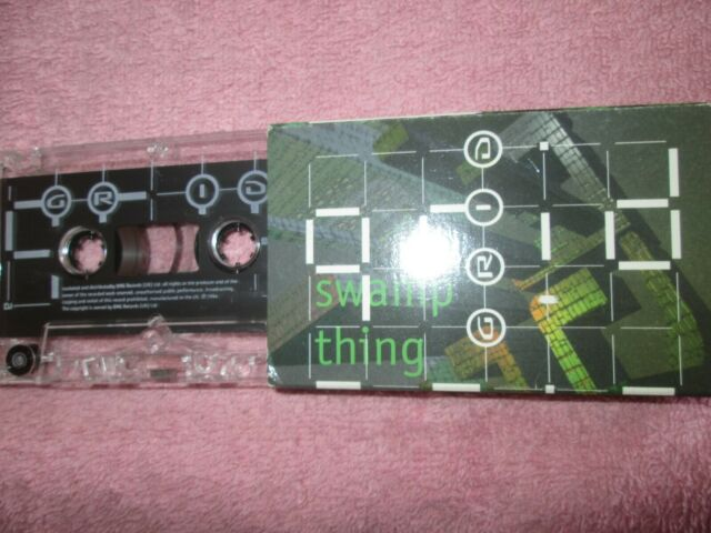 The Grid Swamp Thing RCA 74321205844 Slipcase Tape Cassette Single