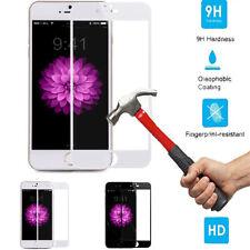 Verre Trempé Premium Complet Protège Écran BLANC EDGE pour Apple iPhone 7 Plus