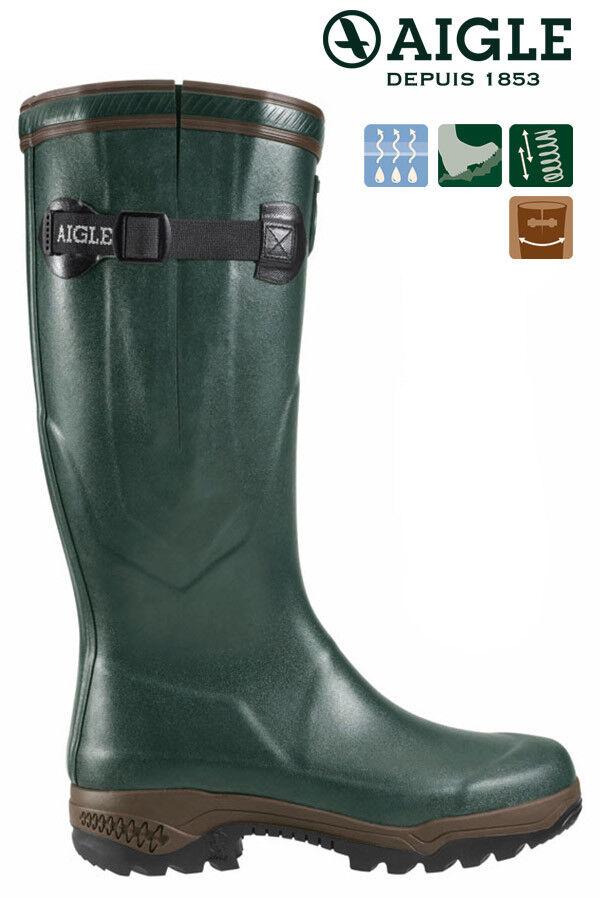 Aigle recorrido 2 vario  verde caza botas botas de goma angel botas nuevo  bienvenido a orden
