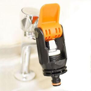Attirant Image Is Loading Universal Tap Connector Adapter Mixer Kitchen Garden Hose