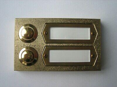 Klingeltaster Klingel Türklingel Klingelplatte 3fach