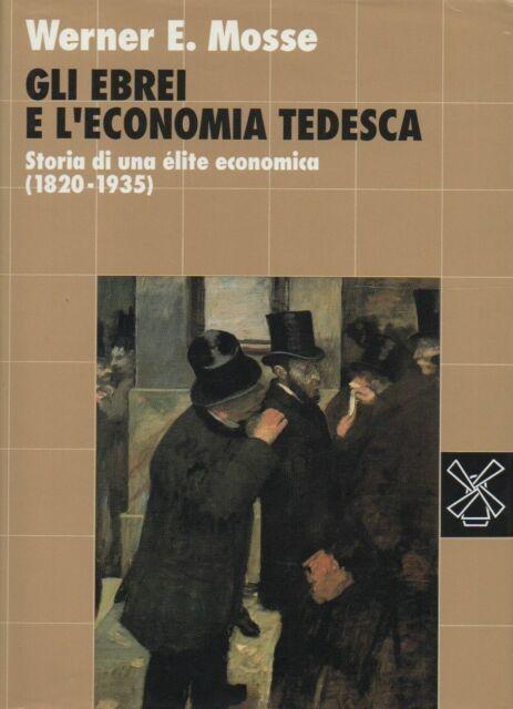 Ebrei e l'economia tedesca. storia di un elite economica (1820-1935)