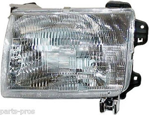 new replacement headlight lh for 1998 00 nissan frontier. Black Bedroom Furniture Sets. Home Design Ideas
