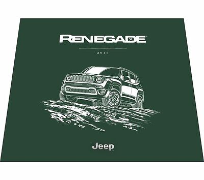 1997 Jeep Wrangler Cherokee Grand Cherokee Large Deluxe 52-Page Sales Brochure