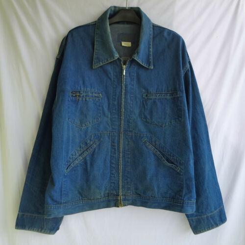 Vintage Oshkosh B'Gosh Denim Zip Chore Coat Men's