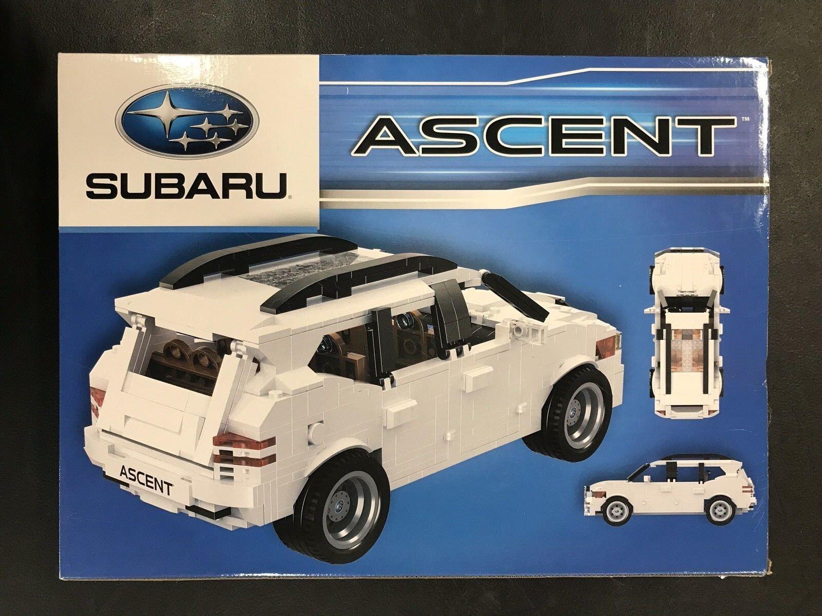 2018 Subaru Ascent 867 Piece Lego Puzzle
