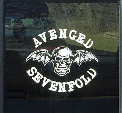 Avenged Sevenfold Sticker A7X Window Decal Car Truck Tool Box Laptop Wall Guitar
