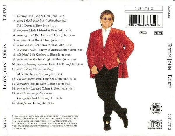 Elton John: Duets , pop