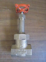 Stockham B-105 1-1/4 Class 125 Threaded End Bronze Gate Valve Free Shipping