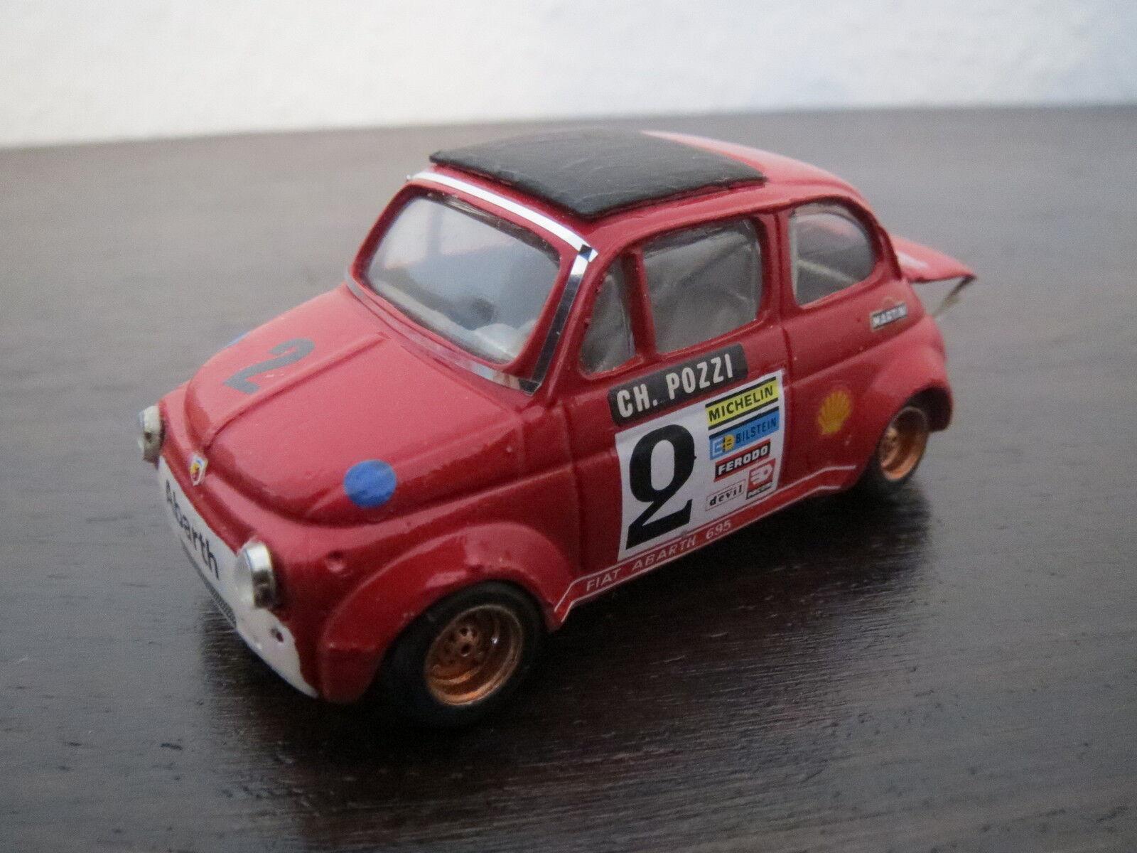 Rarità: Barnini Automodelli Fiat Abarth 695 SS, rosso, 1:43, Top RARO