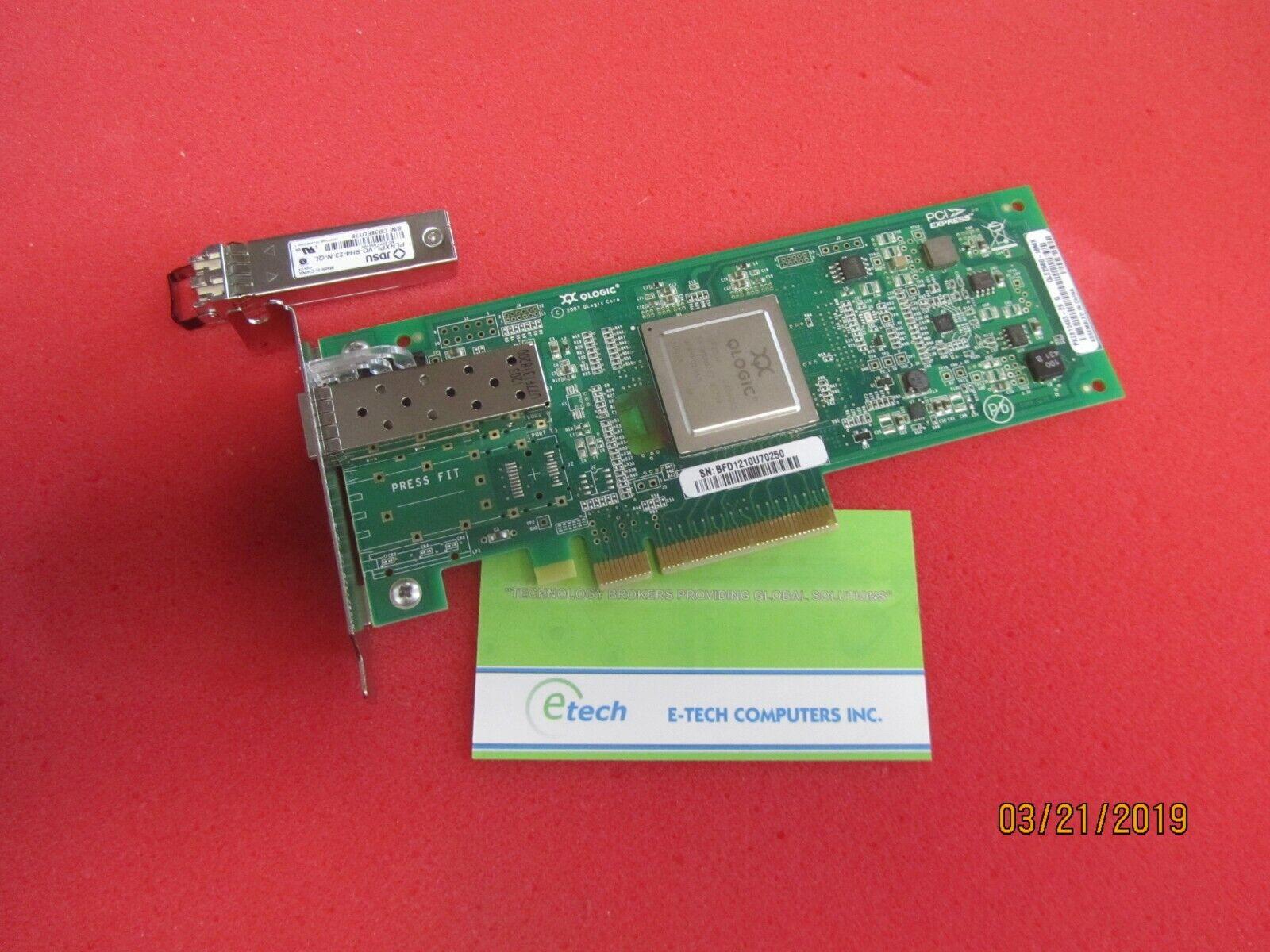 42D0501 42D0507- IBM QLOGIC QLE2560 8GB FC SINGLE PORT HBA - PCIe, Low-profile