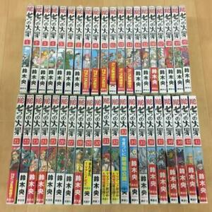 The Seven deadly sins vol.1-40 Manga Complete Set  Japanese version Comic