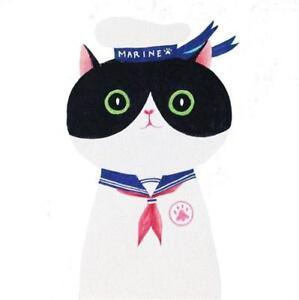 Sailor Cat Be Shrewd In Money Matters Pins & Brooches Cg2388 Acrilico Spilla