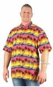 Red Brooklyn Vintage Sunset Summer Shirt Sizes 2XL 3XL 4XL 5XL 6XL 7XL 8XL