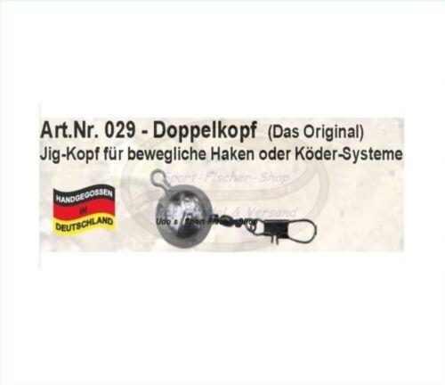 Vorschaltblei Jig System - Bleikopf Profi Blinker Doppelkopf 12gr