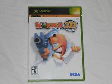 NEW Worms 3D Microsoft XBox Game FACTORY SEALED Original Sega worm wurms US NTSC