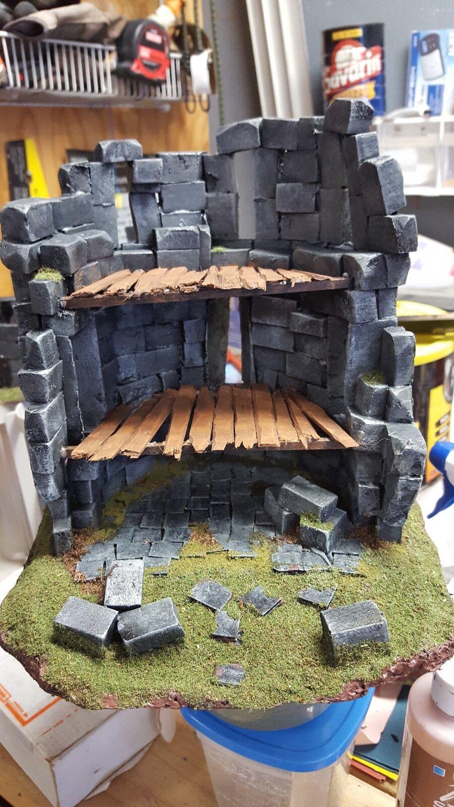 Ruined Tower  D&D,warhammer,wargame terrain