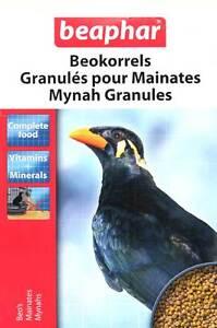 BEAPHAR-COMPLETE-MYNAH-BIRD-FOOD-FEED-GRANULES-VITAMINS-amp-MINERALS-1KG-BOX-16781