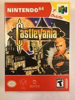 Castlevania - Nintendo 64 - Replacement Case - No Game