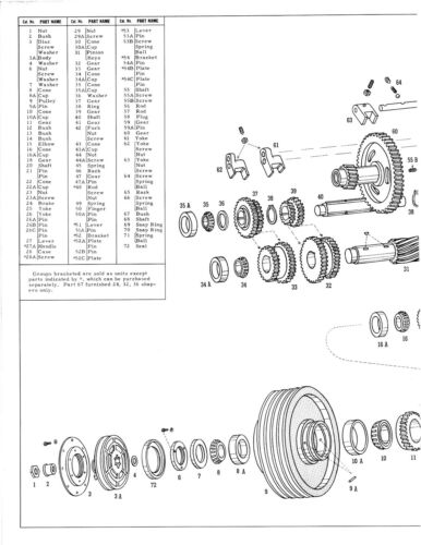Gould /& Eberhardt 16 Speed Metal Shaper  Parts List Manual  *392