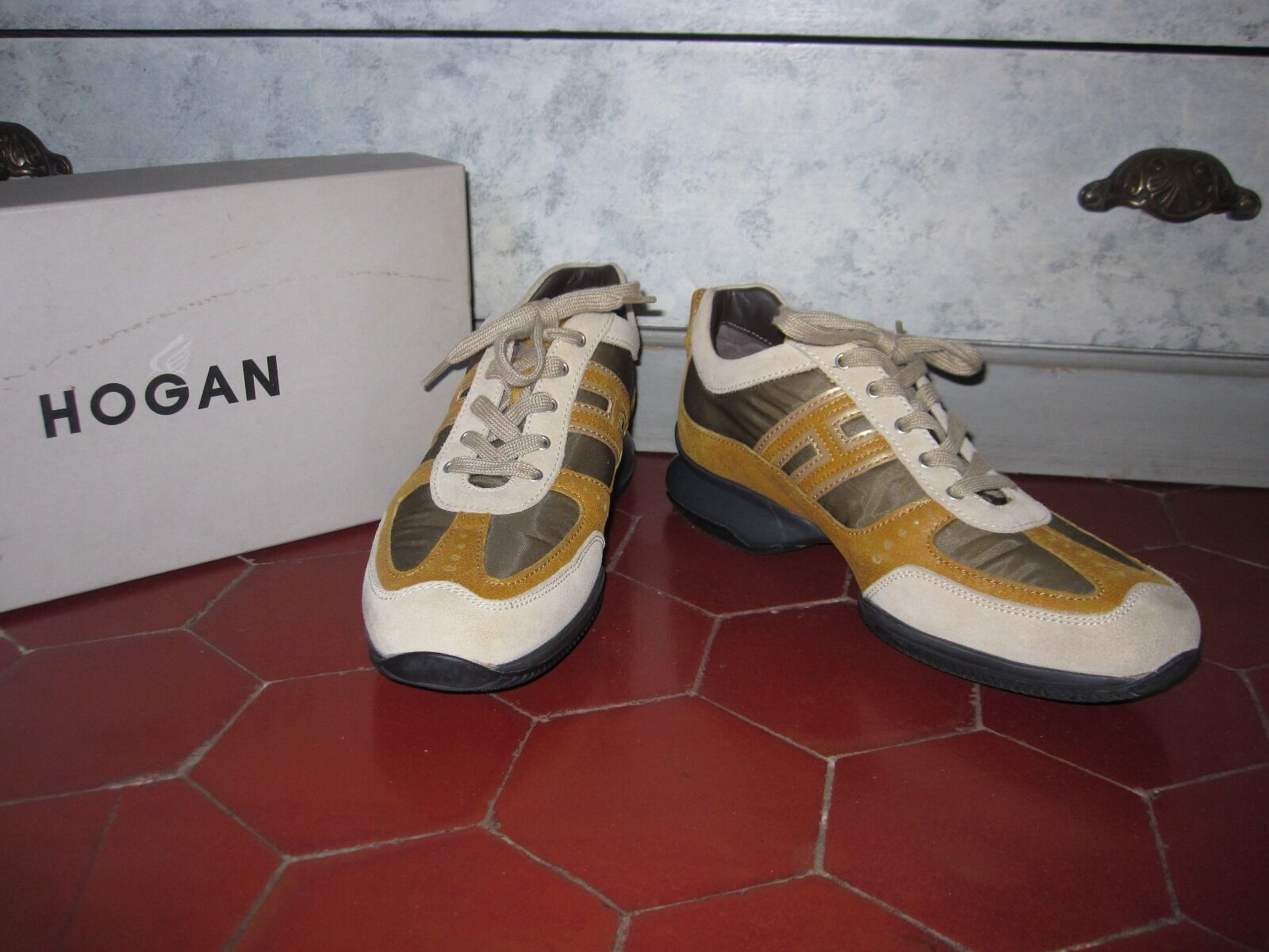 bbb CHAUSSURES SNEAKERS HOGAN T F 40 I 396,5 US 8 NEUF