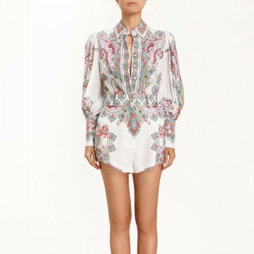 Fp 2019 para mujer inspirado diseñador de lujo estampado estilo vintage de Superdry Short