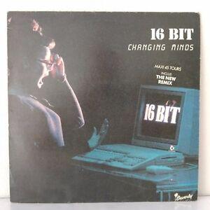 16-Bit-Changing-Minds-The-New-Remix-Vinyl-12-034-MAXI-45-Tours