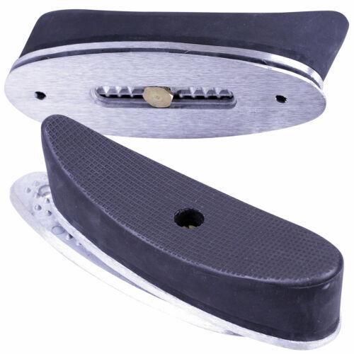Bisley regolabile Rinculo butt pad in gomma Shotgun Fucile STOCK buttplate spalla